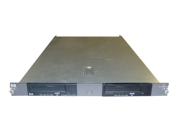 HP EH946A 1U Dual Rackmont Enclosure 2 LTO4 HH SAS Tape Drives