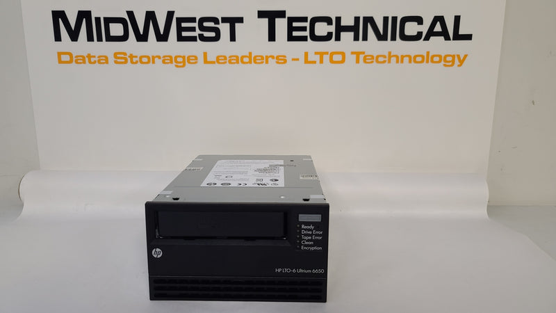 HP EH963A LTO6 FH SAS TAPE DRIVE 684883-001 EH963-60010