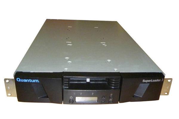 Quantum ER-LL5AA-YF Superloader 3 with LTO3 SCSI Tape Drive 16-Slot