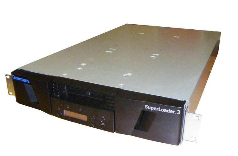 Quantum ER-L25AA-YF Superloader 3 with LTO3 LVD SCSI Tape Drive 8 Slot