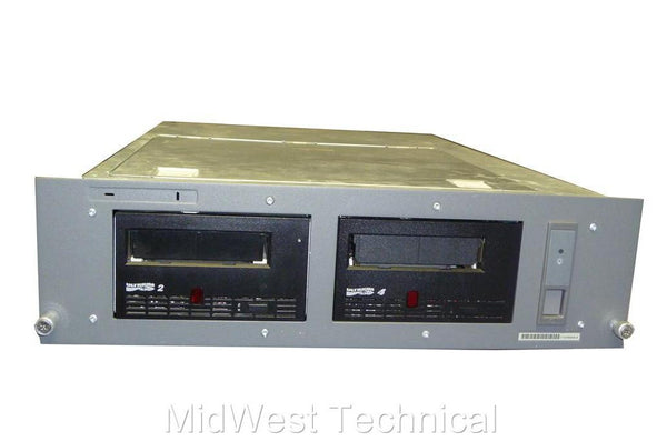 IBM LTO4 and LTO2 FC Tape Drives In Custom Rack Mount Enclosure