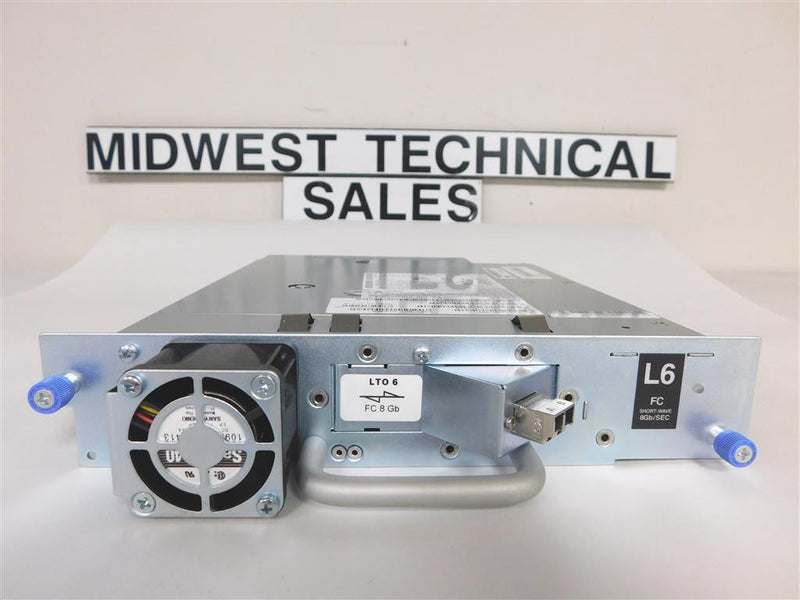 DELL J9P18 LTO6 FC Tape Drive 35P1982 In Tray 35P1838