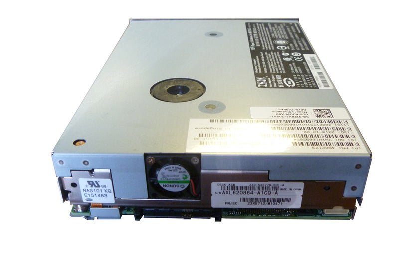Dell J9RH1 LTO3 HH SAS Tape Drive 46C2173 Only 3 POH