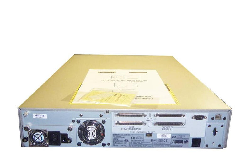 Sony LIB-162/A2 Storstation Library 16-Slot with Two AIT-2 Drives SDX-500C New