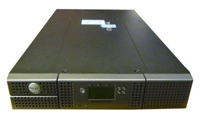 Dell PowerVault TL2000 24-slot Library with Two LTO4 V2 Dual SAS HH Tape Drives 407CX