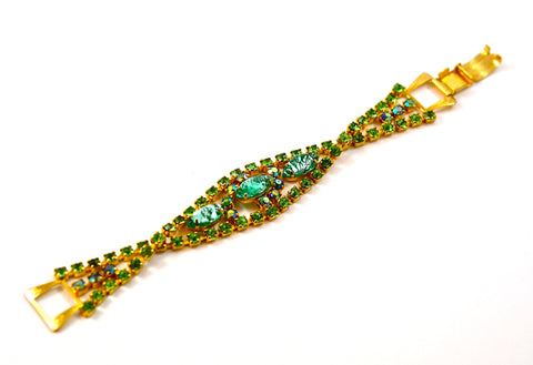 JULIANA GREEN STONES BRACELET