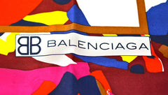 BALENCIAGA ELECTRIC COLORS SCARF