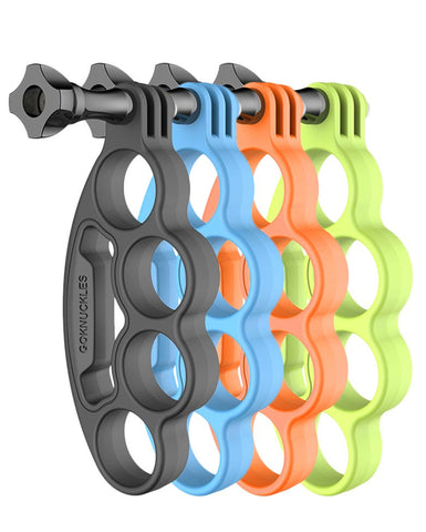 GoWorx GoKnuckles 4 Pack (Black, Blue, Green, Orange)