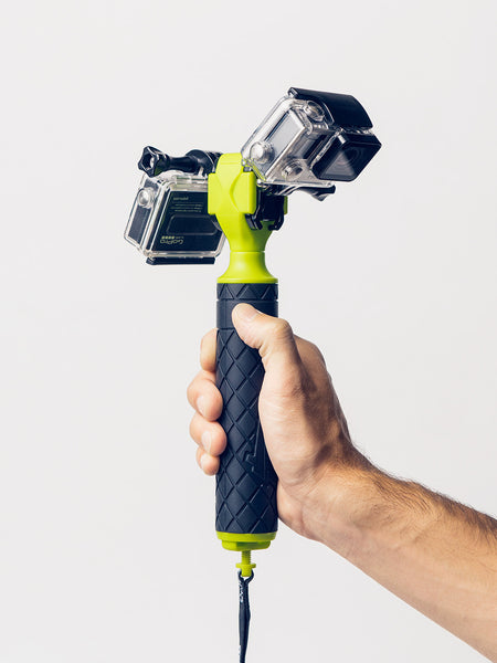 GoScope Surface Floating Hand Grip with 2 GoPros