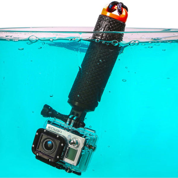 Floating Bobber Hand Grip with Lanyard for GoPro