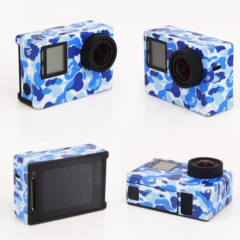 Custom Skin Stickers for GoPro Hero 4 - 15 variants