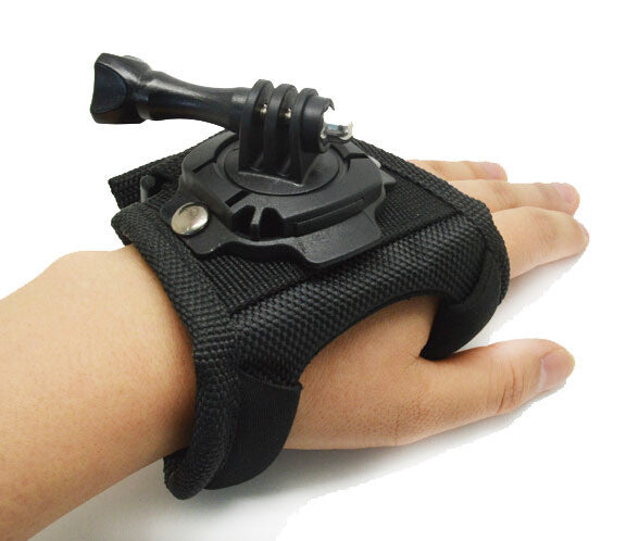 Hand Strap with 360 Degree Swivel Mount for GoPro