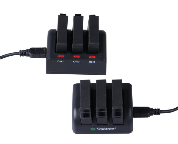 Smatree 1260mAh GoPro Hero4 3-Channel Charger