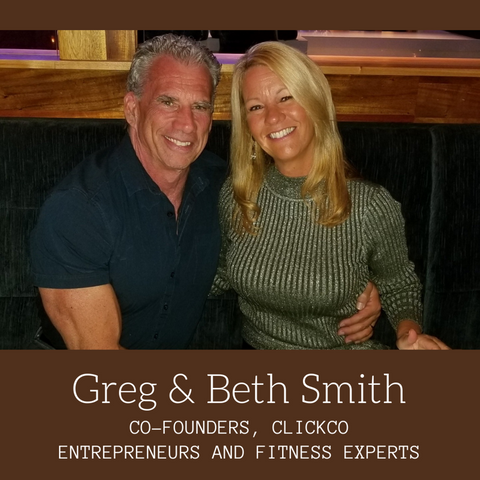 Greg and Beth Smith, CLICK Coffee Protein Founders