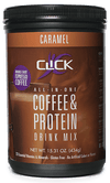 CLICK Coffee Protein Coffee Protein Powder Caramel Copy of Click Coffee Protein Drink