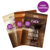 CLICK Coffee Protein Sampler, 3 Single-Serving Packets with Free Shipping