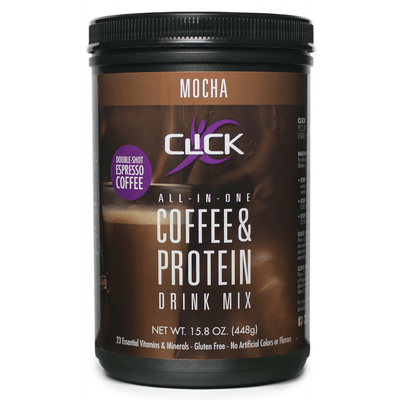 CLICK Coffee Protein Coffee Protein Powder Mocha CLICK Coffee Protein, Buy More, Save More, Special Bundle Offer | Save 20%