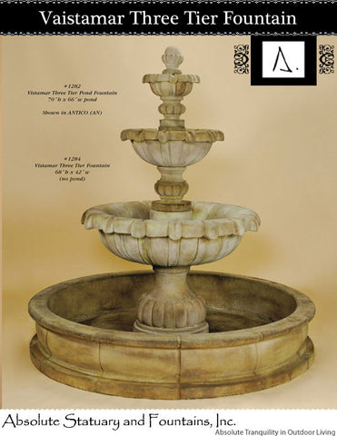 Vaistamar Three Tier Fountain