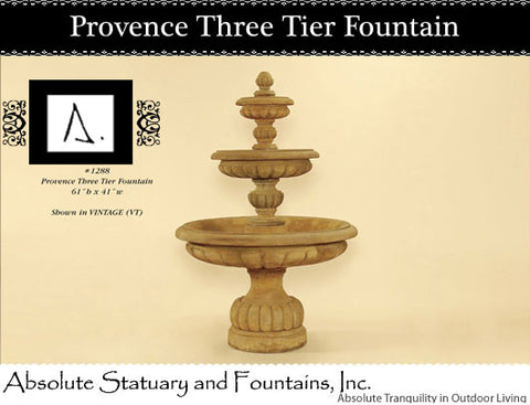 Provence Three Tier Fountain