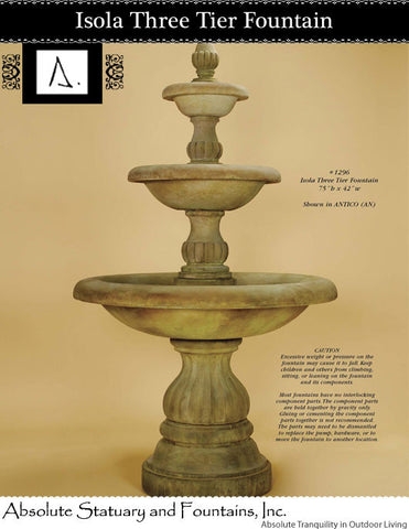 Isola Three Tier Fountain