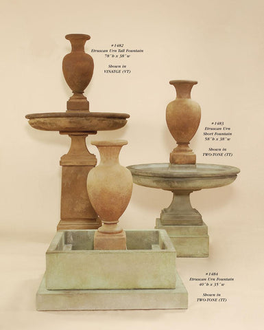 Etruscan Urn Fountain