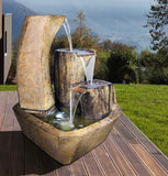 Curving Vessels Fountain