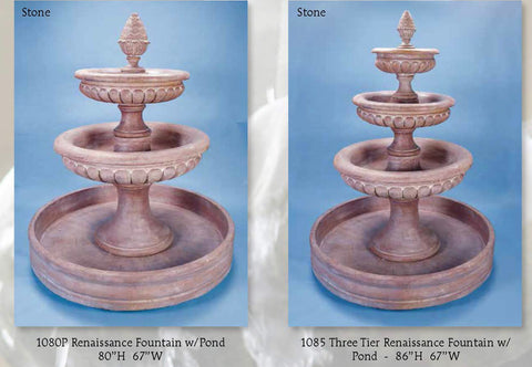 Renaissance Fountains w/ pond