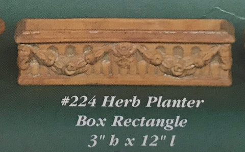 Herb Planter Box Rectangle