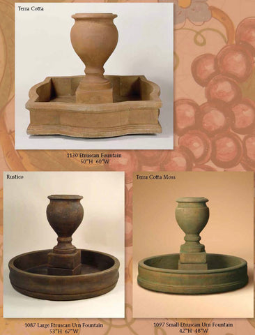 Etruscan Fountains