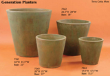 Contemporary round Generation Planters