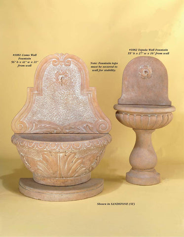 Tepula Wall Fountain