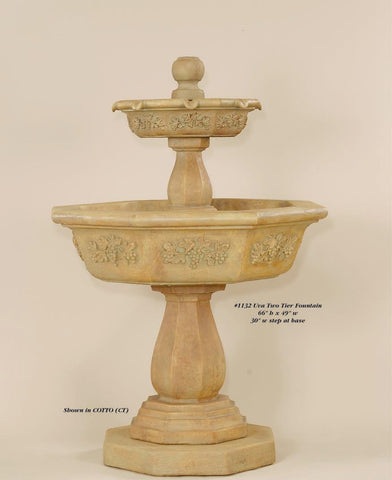 Uva Two Tier Fountain