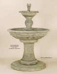 Antiquarium Two Tier Fountain