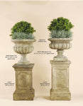 Estate Pedestal & Urn