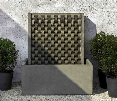 Large M Weave Fountain