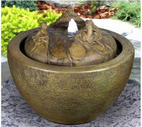 Tree Frogs Fountain