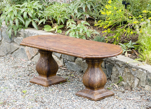 Traditional Colonial Bench - Straight