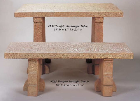 Tempio Rectangle Table