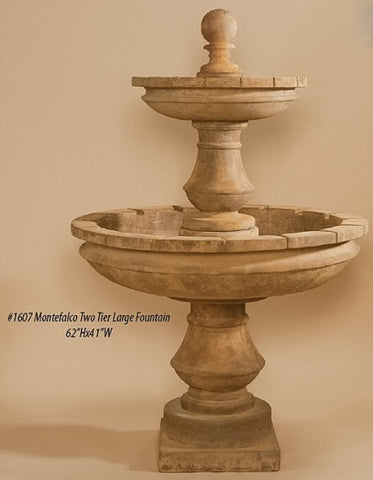 Montefalco Two Tier Large Fountain