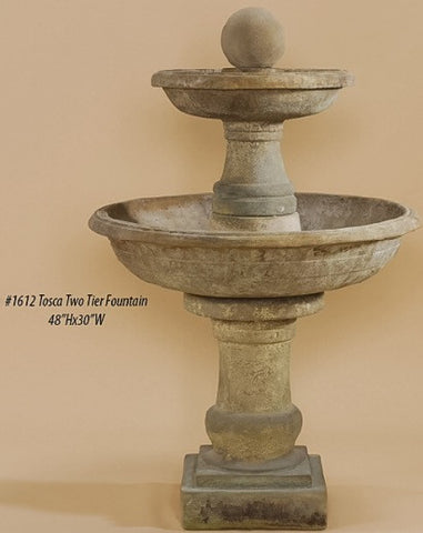Tosca Two Tier Fountain