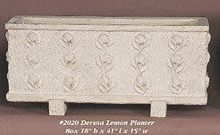 Deruta Lemon Planter Box