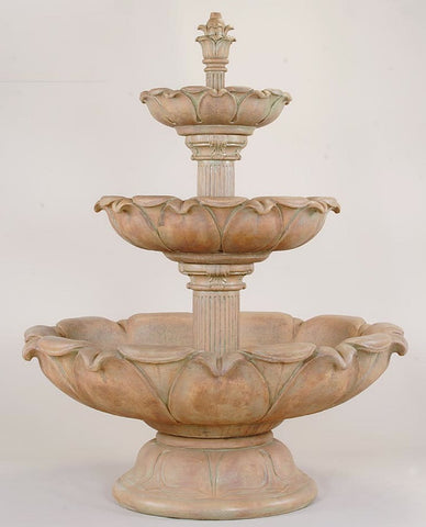 Acquarossa Three Tier Fountain