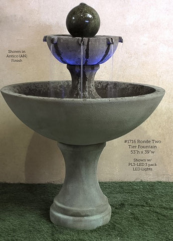 Ronde Two Tier Fountain
