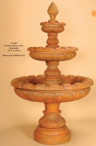 Ariston Three Tier Fountain