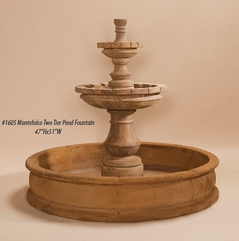 Montefalco Two Tier Fountain