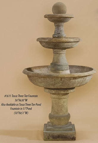 Tosca Three Tier Fountain