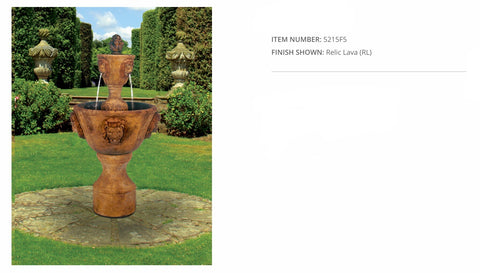Medium Two-Tier Leonesco Fountain