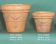 Italian Planter- Small & medium