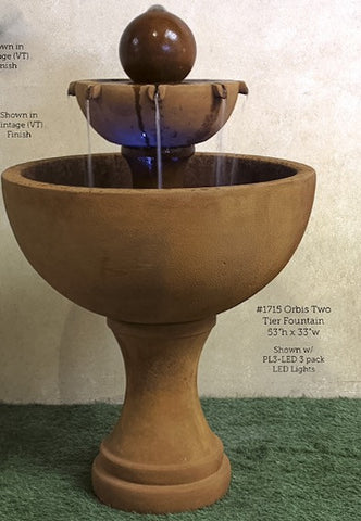Orbis Two Tier Fountain