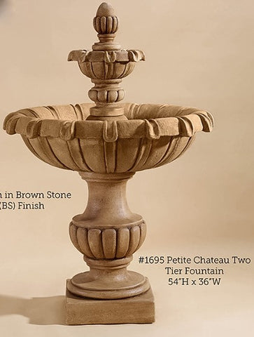 Petite Chateau Two Tier Fountain